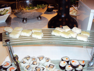 Funny Sushi Selection At A Malaysian Buffet   Strange days indeed...   Scoop.it