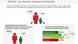 Les Français encore à la traîne sur les réseaux sociaux d'entreprise | Réseaux Sociaux d'Entreprise et Travail Collaboratif | Scoop.it