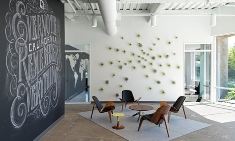 Inside Evernote Office in California | Collaborative Workspaces | Scoop.it