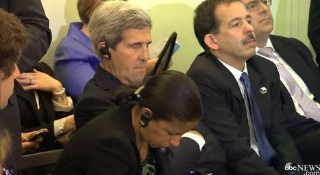 Camera catches John Kerry 'napping' on the job - Red Alert Politics   Business Video Directory   Scoop.it