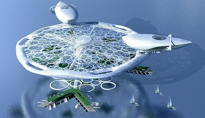 """Aerohotel"". Conceptual project of a hotel on water | Hospitality Sur et Sous l'eau | Scoop.it"