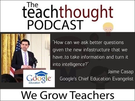 The Future of Learning With Google For Education - via TeachThought | Moodle and Web 2.0 | Scoop.it