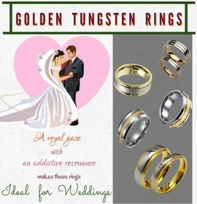 Get the perfect wedding ring for you and your partne | mad tungsten | Scoop.it