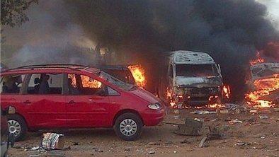 In pictures: Nigeria bus blast   Creiit   Scoop.it