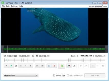 Free Video Editor : logiciel gratuit pour supprimer une partie d'un fichier vidéo | François MAGNAN  Formateur Consultant | Scoop.it