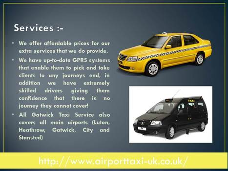 taxi gatwick to oxford   Airport taxi UK   Scoop.it