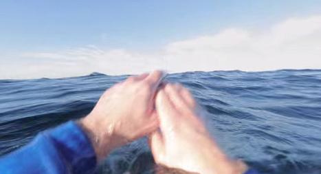 Une campagne interactive choc qui vous plonge dans la peau d'un marin qui se noie | Tendances publicitaires et marketing | Scoop.it