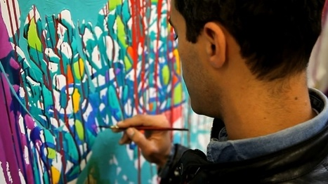 JonOne's Gallery | STREET ART - PAINTING | Looks -Pictures, Images, Visual Languages | Scoop.it