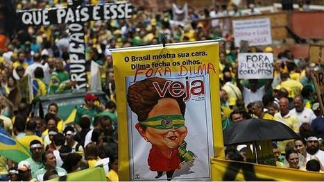 Brazil protests call for Dilma Rousseff's impeachment | Business Video Directory | Scoop.it