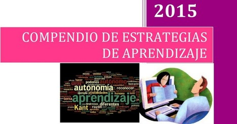 Compendio de estrategias de aprendizaje.pdf | Contenidos educativos digitales | Scoop.it