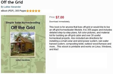 Off the Grid Ebook Order | Sustainism | Scoop.it