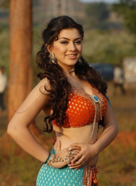 Hansika Motwani Pictures in String Blouse and Lehenga, Hansika Motwani Spicy Pictures | Indian Fashion Updates | Scoop.it