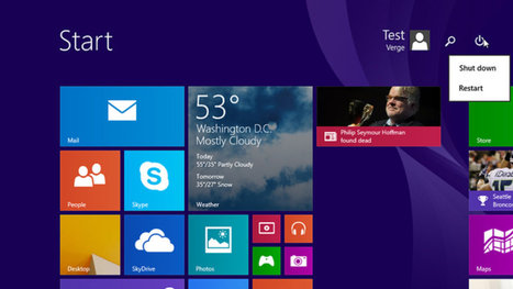 Windows 8.1 Update 1 download leaked early by Microsoft | Daily Magazine | Scoop.it