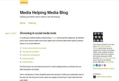 Media Helping Media Blog   Top sites for journalists   Scoop.it