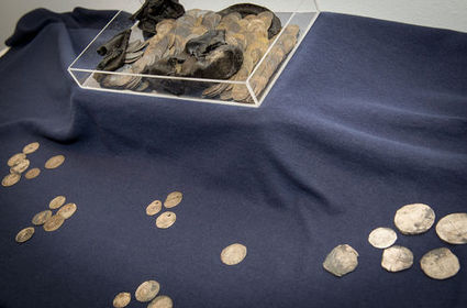 Rotterdam archaeologists find old shoe stuffed with medieval money | Archaeology News | Scoop.it