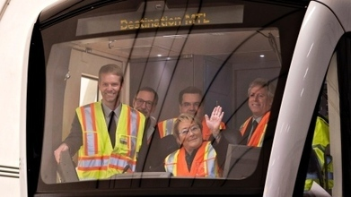 Bombardier unveils new metro cars for Montreal - CBC.ca   Montreal   Scoop.it