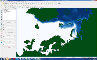 Geoinformatics Tutorial: Reading binary data (NSIDC Sea Ice Concentrations) into GeoTIFF raster with Python | Geospatial Pro - GIS | Scoop.it