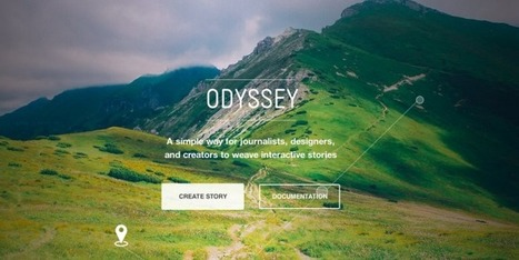 CartoDB's Odyssey.js Is An Open-Source Tool For Telling Stories With Interactive Maps | TechCrunch | Interactive possibilities | Scoop.it