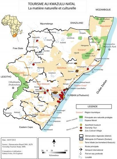 Patrimonialisation et (re)valorisation touristiques dans la métropole d'eThekwini/Durban (KwaZulu-Natal, Afrique du Sud): à la croisée des enjeux politiques et économiques (Cybergeo) | afrique du sud | Scoop.it