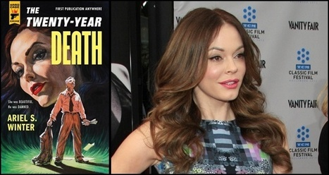 Rose McGowan Graces Retro Crime Novel Cover | Word & Film News | Scoop.it