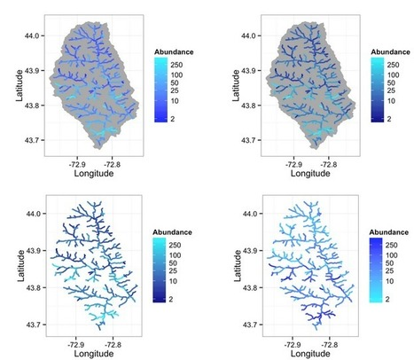 Mapping Abundance in Streams in R | Skills and tools  for making and presenting environmental decisions | Scoop.it