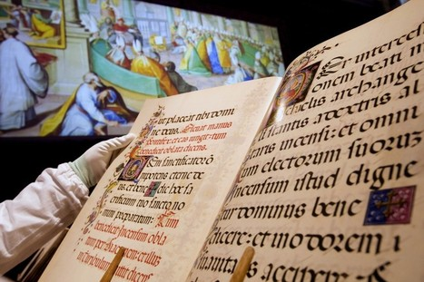 Vatican Library digitizes ancient manuscripts, makes them available for free | The Rundown | PBS NewsHour | Academic and Research Libraries | Scoop.it