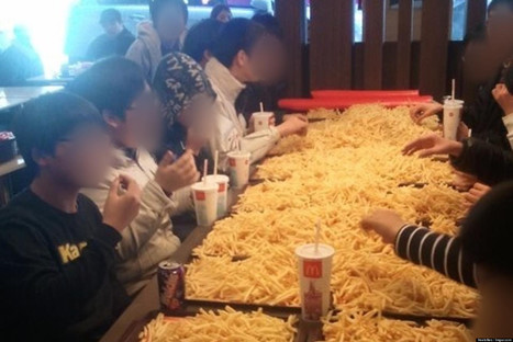 McDonald's French Fry Parties Are All The Rage In South Korea (PICTURE) | McDonald's Corporation | Scoop.it