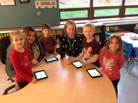 Transforming kindergarten with iPads : Valparaiso Community News | Maker Movement in the Elementary Classroom | Scoop.it