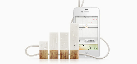 App and sensor modules let consumers see if their food is organic | MobileandSocial | Scoop.it