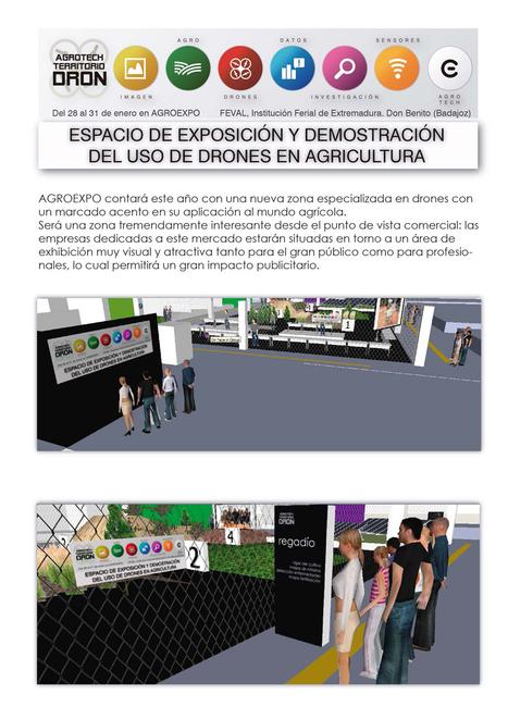 Aproexpo incluye demostraciones de vuelos de drones sobre cultivos   Agroexpo   Scoop.it