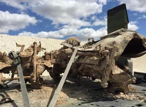 Un char d'assaut allemand et un canon découverts près d'Epernay | Rhit Genealogie | Scoop.it