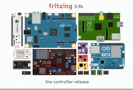 Arduino Blog » Blog Archive » Fritzing is out with a new release including Arduino Yún microcontroller! | Arduino, Netduino, Rasperry Pi! | Scoop.it