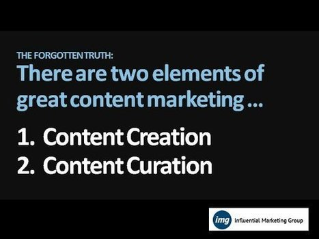 Content Curation: How To Use Content Marketing Without Being A Creator - IMB | Content Marketing | Scoop.it