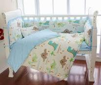 Dinosaur Crib Bedding | Baby products, works because it's simple. | gerogeman25 | Scoop.it