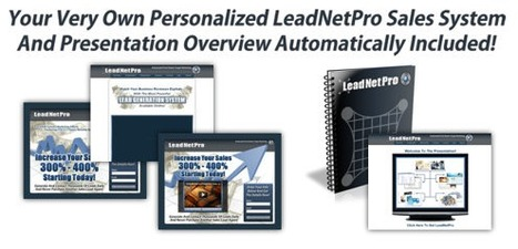 Utilize the lead net pro to own the remarkable earnings in online home business marketing…   Leadnetpro   Scoop.it