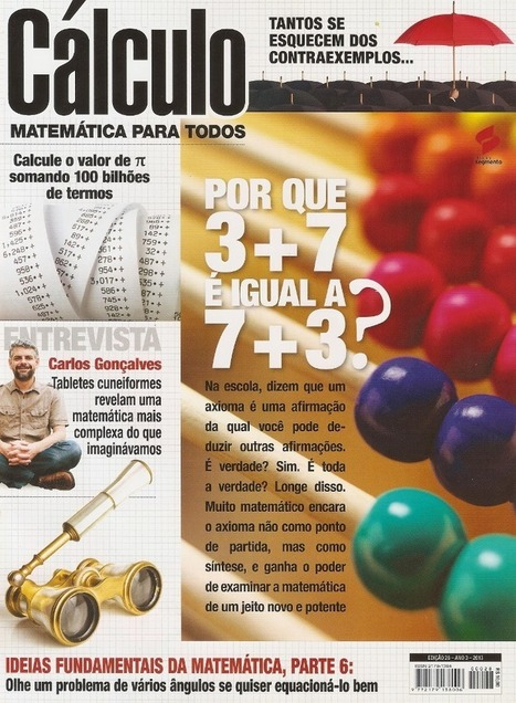 Sorteio de dois exemplares da Revista Cálculo - Prof. Edigley Alexandre | Prof. Edigley Alexandre | Scoop.it