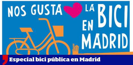 BiciMad, así funcionarán las bicis públicas de alquiler de Madrid | Bici & ciudad | Scoop.it