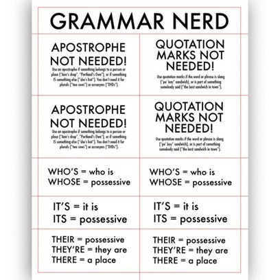 the Dylan Meconis Store — Grammar Nerd Corrective Label Pack | Translation & Terminology | Scoop.it