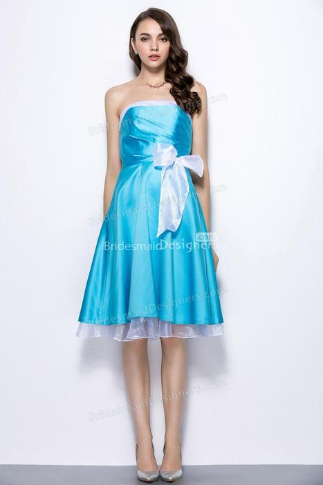 Two Tone Bridesmaid Dresses | Two Tone Gown - BridesmaidDesigners | Designer Bridesmaid Dress 2014 | Scoop.it