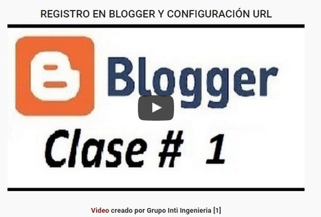 Uso Educativo de los Blogs Características de Blogger   EDUCACIÓN 3.0 - EDUCATION 3.0   EduHerramientas 2.0   Scoop.it