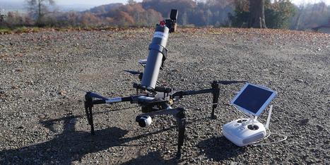 Spray Hornet de Drone Volt a une mission : éradiquer les frelons | Une nouvelle civilisation de Robots | Scoop.it