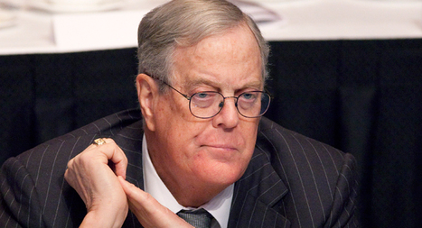 David Koch breaks from GOP on gay marriage, taxes, defense cuts - Kenneth P. Vogel | Coffee Party Election Coverage | Scoop.it