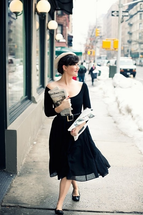 à la parisienne: Vintage-Inspired Fashion-From Me to You | Vintage Whatever | Scoop.it