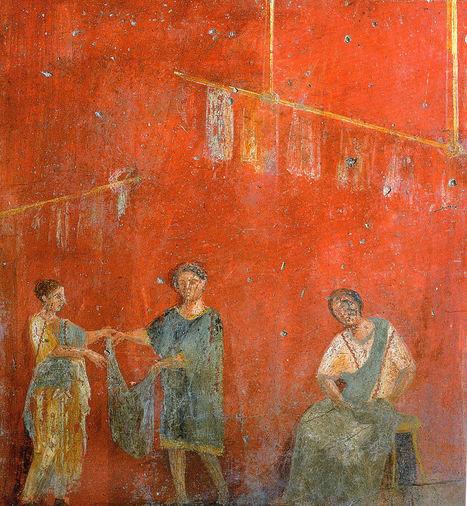 Fullonicae y tinctoriae en la Roma clásica | Cultura Clásica | Scoop.it