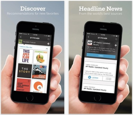 Stitcher Radio for Podcasts 6 is out with complete redesign   Podcasts   Scoop.it