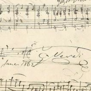 Verdi fragment to be auctioned | | Muzibao | Scoop.it