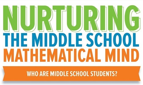 Nurturing the Middle School Mathematical Mind Infographic | Purposeful Pedagogy | Scoop.it
