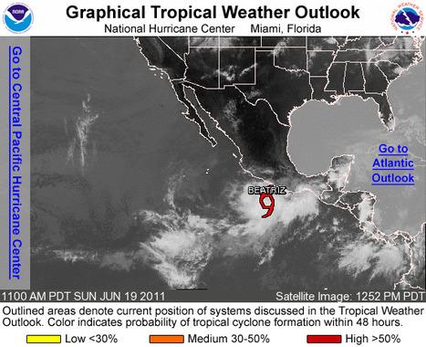 Une 2e tempête tropicale dans le Pacifique | LesNews | Scoop.it