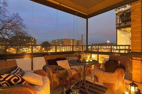 Βεράντα & Μπαλκόνι: Το επιπλέον δωμάτιο. Ιδέες | Interior Design | Scoop.it