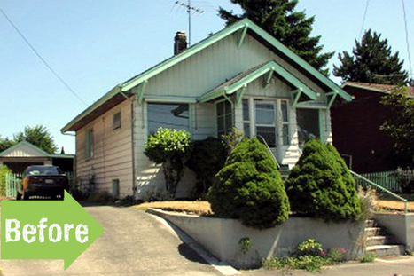 Before & After: An Amazing Exterior Overhaul in Seattle | Annie Haven | Haven Brand | Scoop.it
